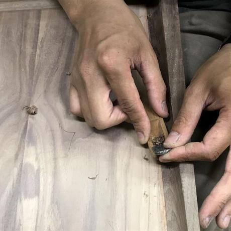 【若い衆シリーズ】木のトレイ no.2限定1個 土田真之