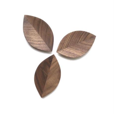 【若い衆シリーズ】 葉っぱの小皿no.2(3枚入り)限定3セット 平野楓汰