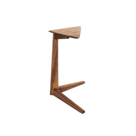 side table sankaku  【walnut】