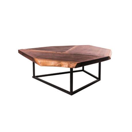 【一枚板シリーズ】low table-01(love letter to a wood table)【walnut】
