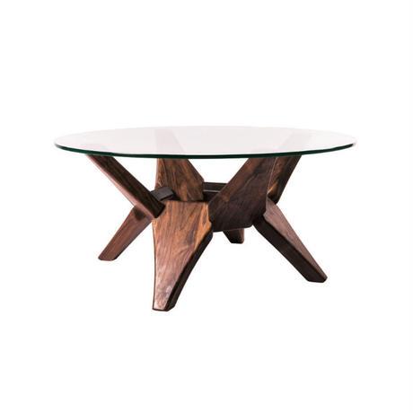 glass low table   【walnut】