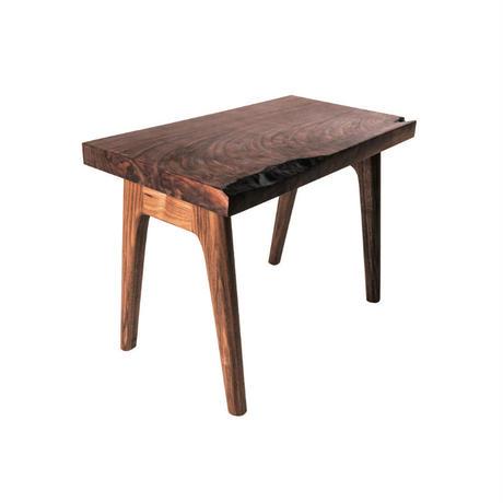 【一枚板シリーズ】side table-02【walnut】