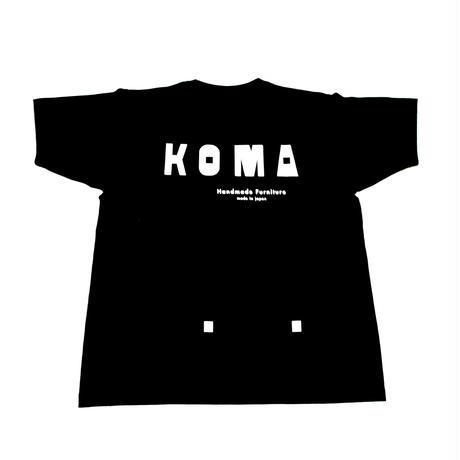 KOMA作業用6.6オンスTシャツ