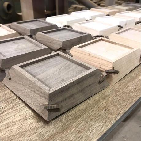 【若い衆シリーズ】 wood  tray(4枚入り)限定4セット 佐藤竜