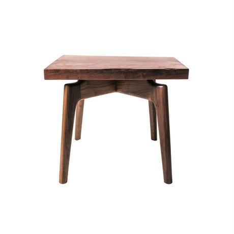 【一枚板シリーズ】side table-01【walnut】
