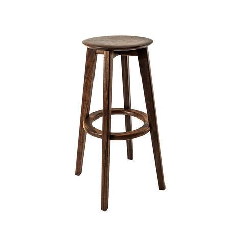 High stool maru   【walnut】