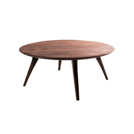 circle low table (KOMAシェイプver.)【walnut】