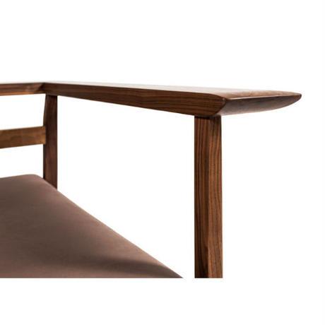 The sofa 3P     【walnut】
