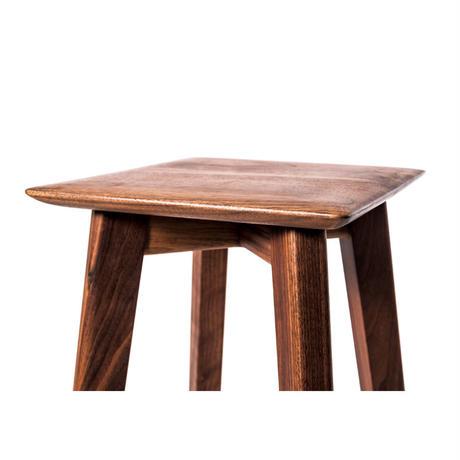 high stool kaku   【walnut】