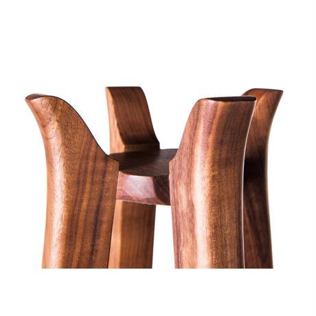 coat hanger-04   【walnut】