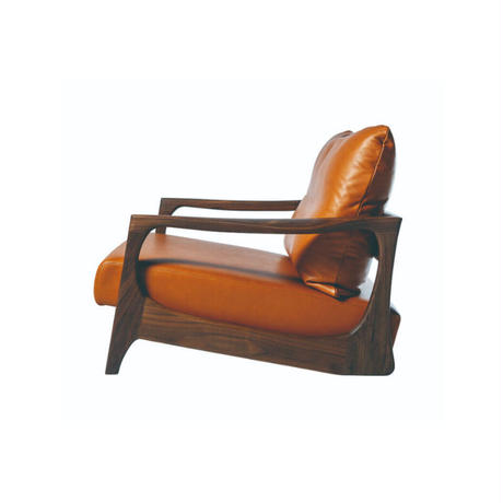 single sofa     【walnut】