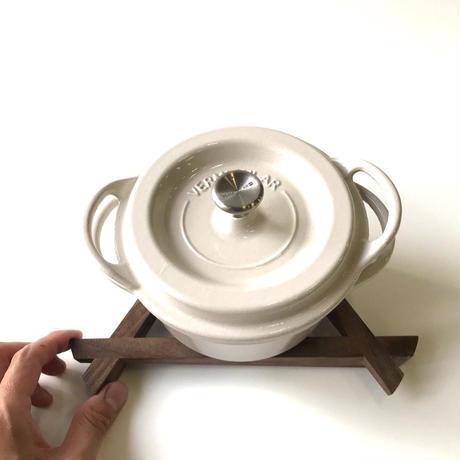 【若い衆シリーズ】3徳鍋敷きL 限定3個 平塚剛史