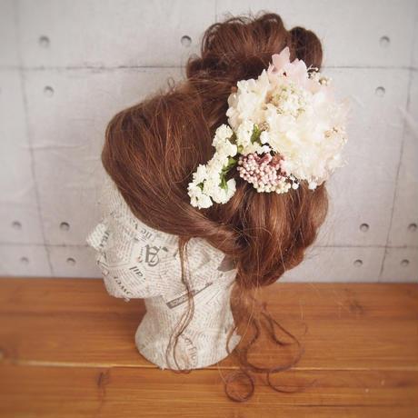 manmaru~hanasakura~プリザーブドフラワーのヘッドドレス
