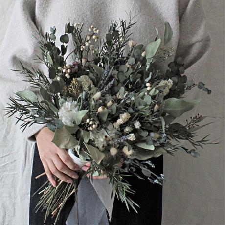 leaf bouquet set ~ブーケ・ブートニア~