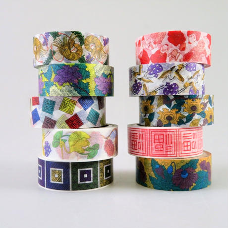 九谷マスキングテープ 全10種類