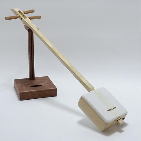 "[29161]  ""Shamiboy"" with a round Azuma-sawari : Casual authentic shamisen"