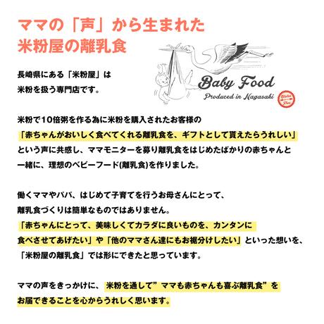 米粉の離乳食⑩個セット(ネコポス送料込み)