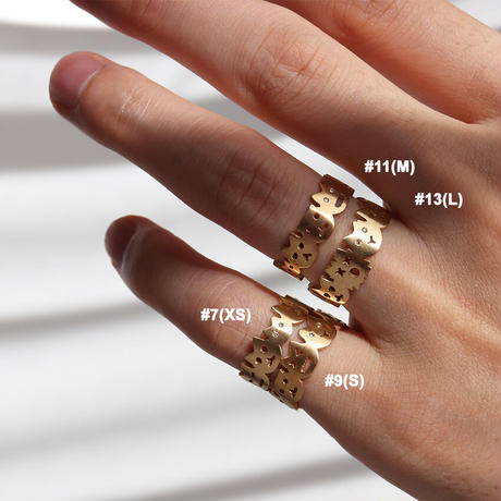 CAT RING SIZE 'XS'