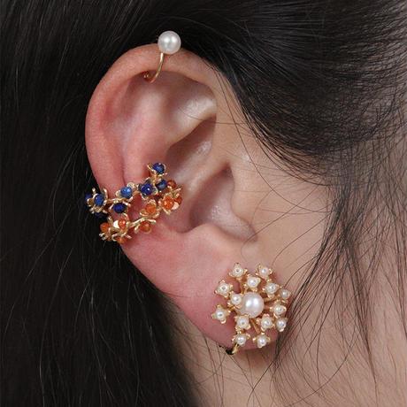 FLOWER EAR CUFF
