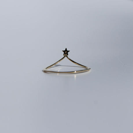 SMALL STAR TIARA RING