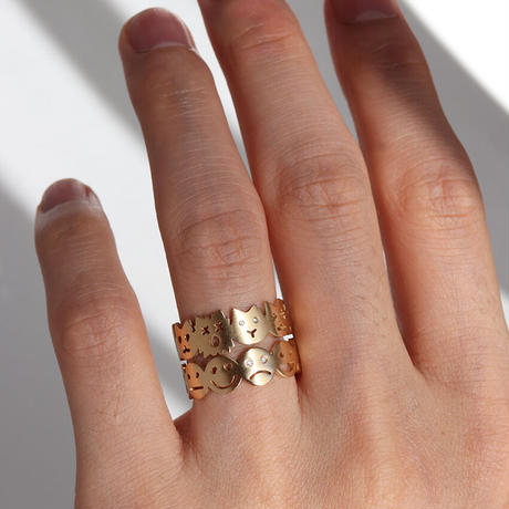 FACE EMOTIONS RING SIZE 'L'