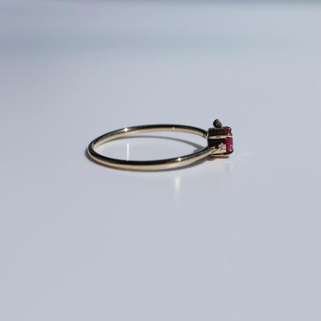 TIARA RUBY RING