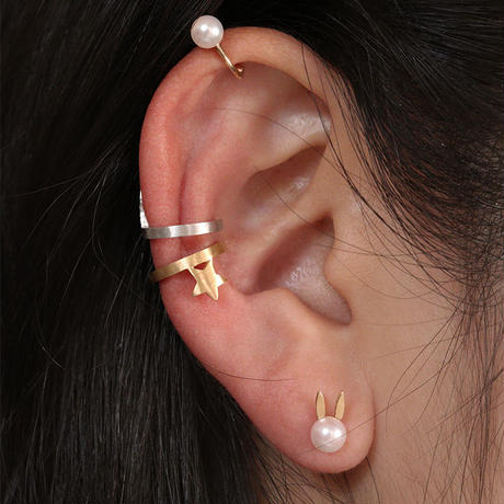 ONE STAR EAR CUFF