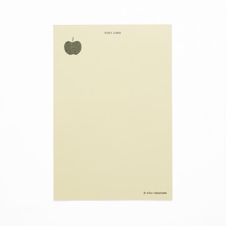 ポストカード『ありがとうございます(りんご)』