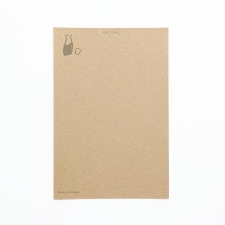 ポストカード『またごはんをたべましょう(ぶた)』