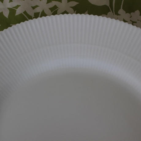 ROYAL COPEN HAGEN WHITE ELEMENTS PLATE FLAT 26cm  [デンマーク]