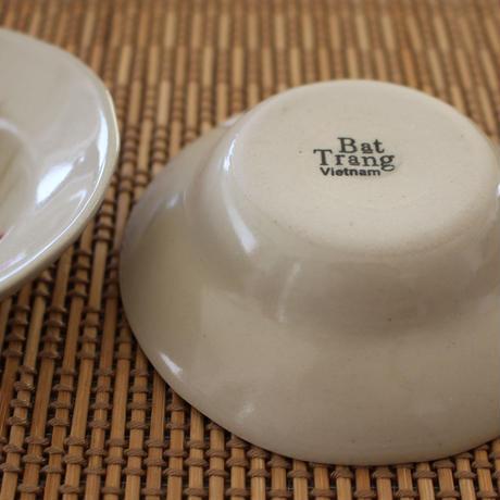 バッチャン焼 小皿【ベトナム】