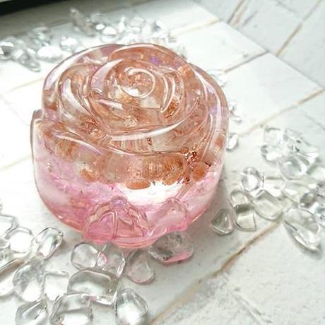 心の中に咲く薔薇~ローザオルゴナイト(各色)