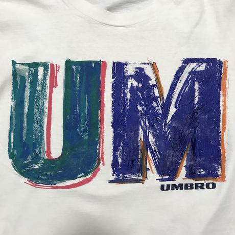 【USED】90'S UMBRO T-SHIRT MADE IN USA