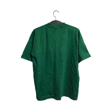 【USED】90'S NIKE SWOOSH ONE POINT T-SHIRT GREEN