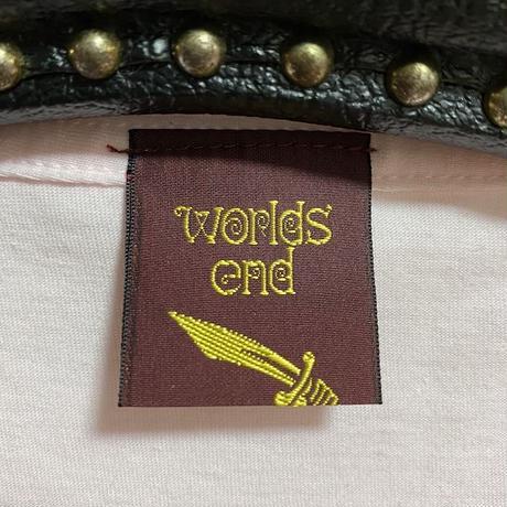 """【DEAD STOCK】WORLDS END CLASSICS T-SHIRT """"DUCK ROCK"""""""