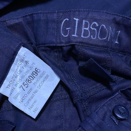 【USED】90'S-00'S BRITISH ARMY ROYAL NAVY COMBAT TROUSERS  (① GIBSON1)