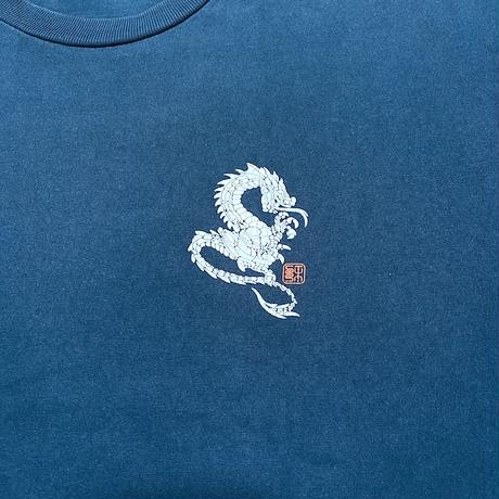【USED】90'S STUSSY DRAGON T-SHIRT