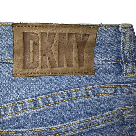 【USED】90'S DKNY JEANS CUTOFF DENIM PANTS