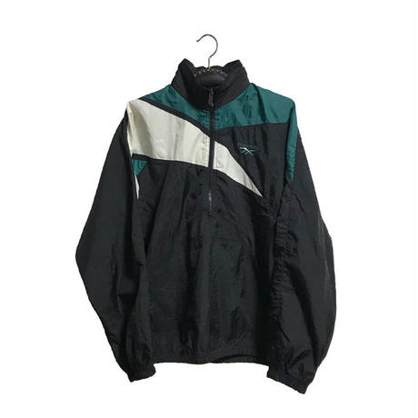 【USED】90'S REEBOK VECTOR NYLON PULLOVER