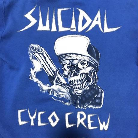 "【USED】90'S SUICIDAL TENDENCIES ""SUICIDAL CYCO CREW"" HOODIE"