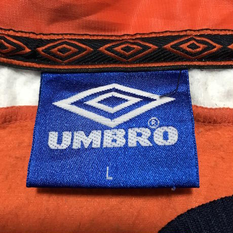 【USED】90'S UMBRO PULLOVER TRACK TOP