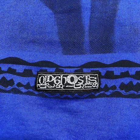"""【USED】OLD GHOSTS DESIGNS L/S T-SHIRT """"MASK LADY"""" (REPLO)"""