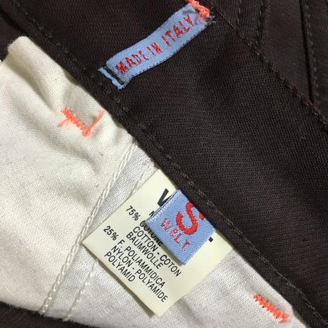 【USED】90'S W&LT SOLID POCKET BUGGY PANTS