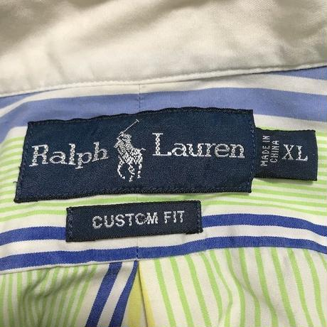 【USED】RALPH LAUREN CRAZY PATTERN SHIRT