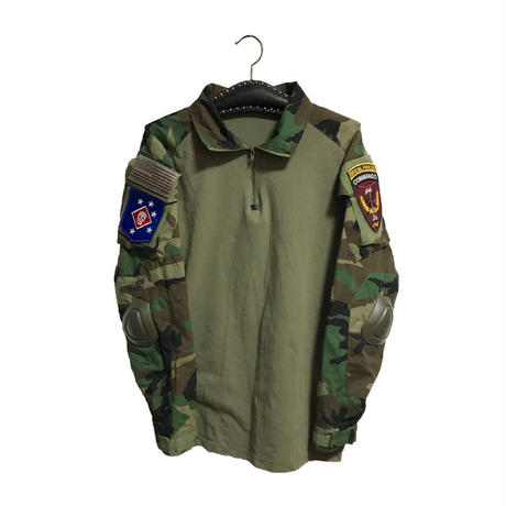 【USED】U.S COMBAT SHIRT WITH ELBOW PADS
