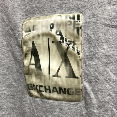 【USED】00'S ARMANI EXCHANGE HOLOGRAM T-SHIRT