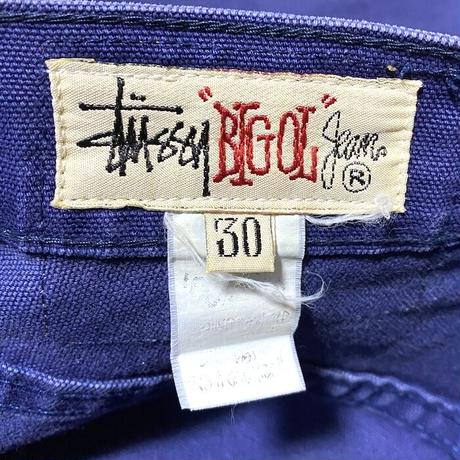 "【USED】90'S STUSSY ""BIG OL"" DUCK WORK PANTS"