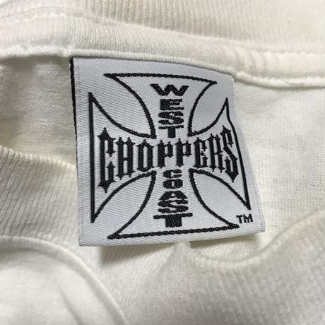 "【USED】90'S WEST COAST CHOPPERS T-SHIRT ""HAND"""