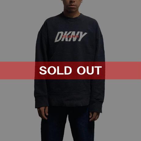 【USED】90'S  DKNY JEANS OLD SWEATSHIRT