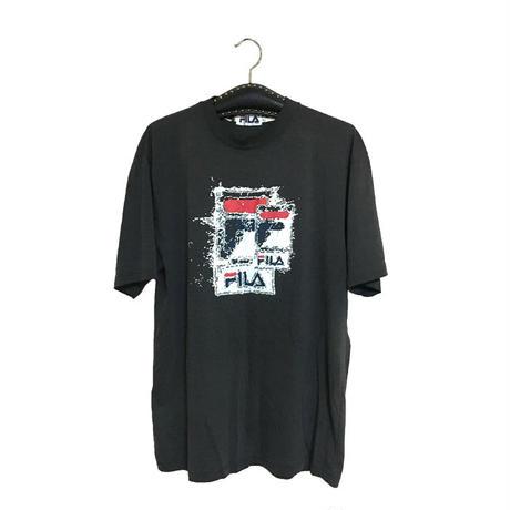 【USED】90'S FILA LOGO GRAPHIC T-SHIRT